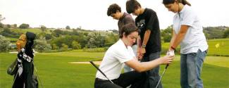 English and Golf courses