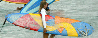 English and Surf courses for a junior