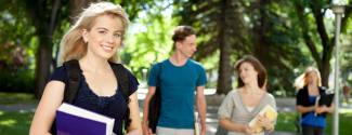 English courses on University campus