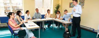 English courses on campus