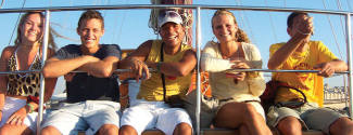 English and Water sports courses