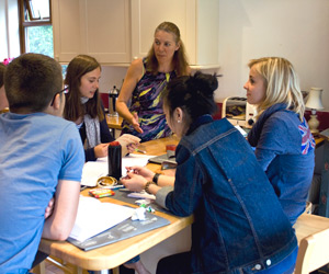 2 - Mini Group Junior programme in the teacher's home