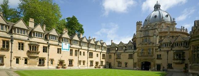 Summer school Bucksmore - Brasenose College - Oxford University for junior (Oxford in England)