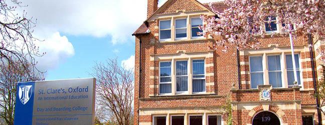 Summer school St Clare's Oxford - Headington Road Campus for junior (Oxford in England)
