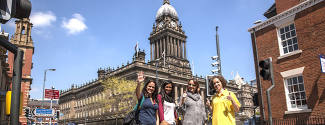 Language studies abroad in Great Britain Leeds